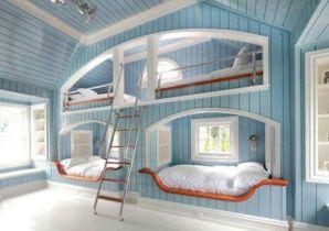 Cozy Bed Loft Ideas For Beloved Twin Kids 151