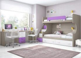 Cozy Bed Loft Ideas For Beloved Twin Kids 191