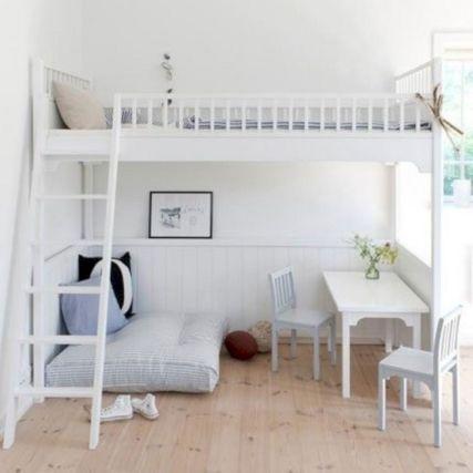 Cozy Bed Loft Ideas For Beloved Twin Kids 201