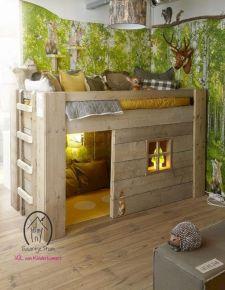 Cozy Bed Loft Ideas For Beloved Twin Kids 231