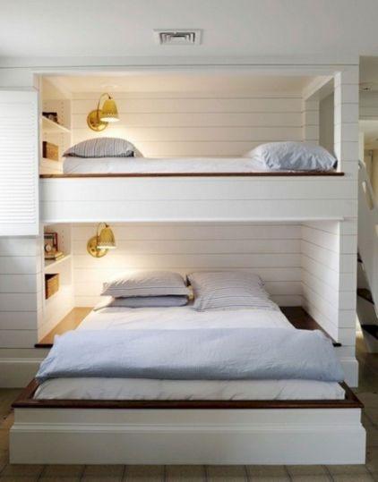 Cozy Bed Loft Ideas For Beloved Twin Kids 321