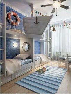 Cozy Bed Loft Ideas For Beloved Twin Kids 371