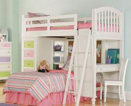 Cozy Bed Loft Ideas For Beloved Twin Kids 41