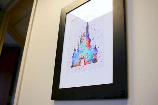 Cubicle Decoration Disney Castle