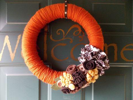 DIY Fall Wreaths Ideas
