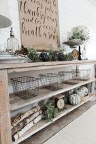 Fall Buffet Table Decorating Ideas 11