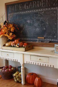 Fall Entry Table Decor Ideas 1
