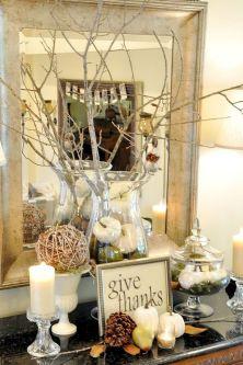Fall Entry Table Decor Ideas 8