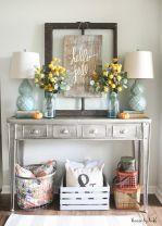 Fall Entry Table Decor Ideas 9