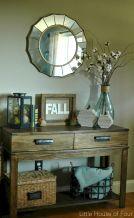 Foyer Entrance Fall Decorating Ideas 3