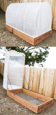 Garden Cold Frame Design 1