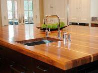 Kitchen Countertop Butcher Block Wood
