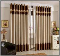 Living Room Curtain Design Idea