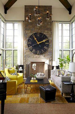 wall clock living room. Living Room Ideas with Wall Clocks 35  Beautiful Decor DECOREDO