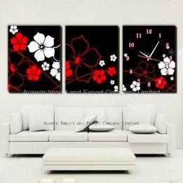 Living Room Wall Decor with Clocks