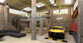 Man Cave Car Garages Ideas