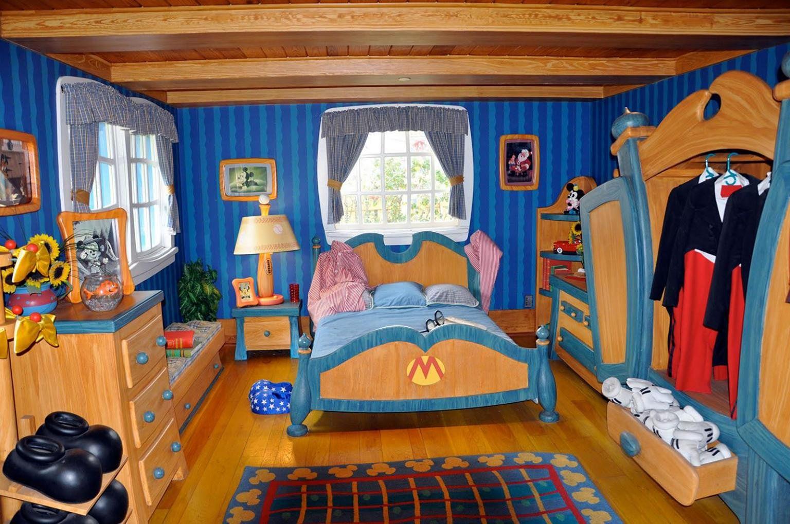 Disney World Themed Living Room