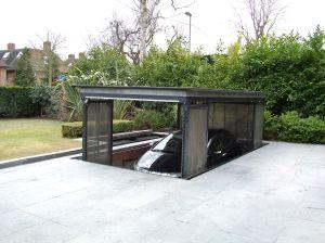 Modern House Plan with Underground Garage