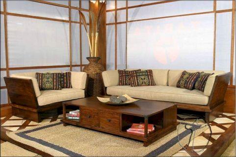 Modern Living Room Furniture Wooden Sofa