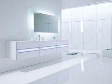 Modern & White Bathroom Ideas