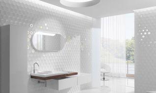 Modern White Bathroom Tile Ideas
