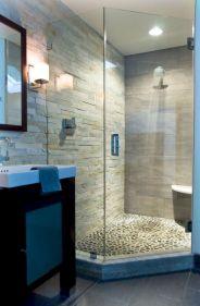 Amazing Rock Wall Bathroom You Need to Impersonate 11