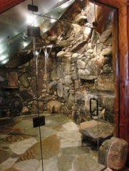 Amazing Rock Wall Bathroom You Need to Impersonate 16