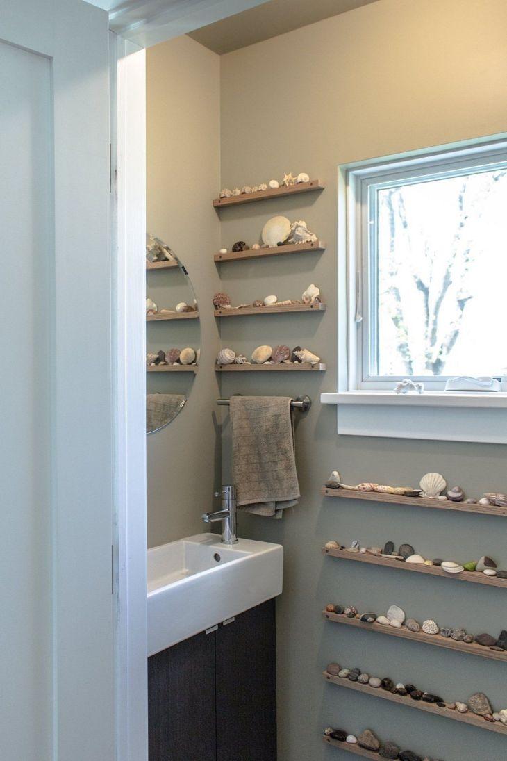 Best Rock Wall Bathroom