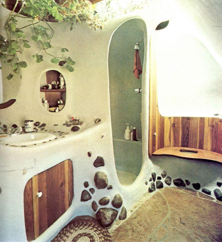 Rock Wall Bathroom ideas