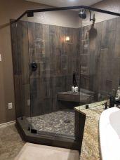 Amazing Rock Wall Bathroom You Need to Impersonate 43
