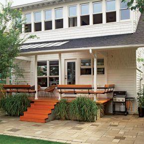 30+ Simple Back Porch Design For Beautiful Home Back Views – DECOREDO