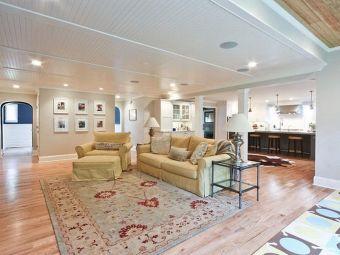 Basement Ceiling Design Ideas