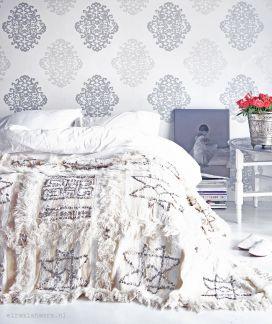 Beautiful Bedroom Wallpaper Decorating Ideas 37