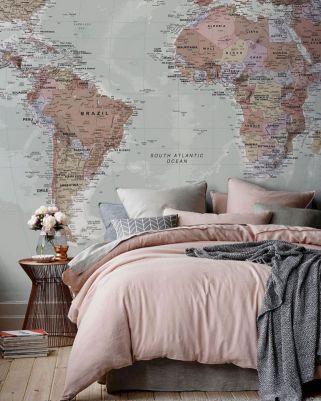 Beautiful Bedroom Wallpaper Decorating Ideas 41