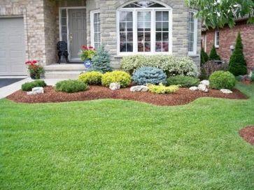 Beautiful Front Yard Landscaping Design