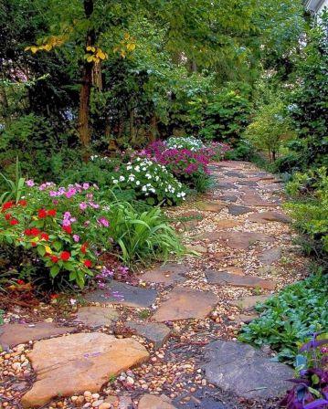 Beautiful Stone Garden Path