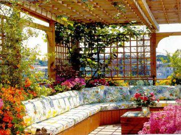Bed Idea Flowers Garden Design