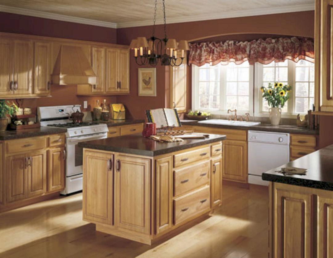 brown paint kitchen cabinets color ideas