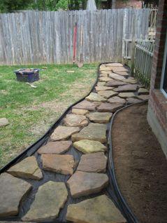 DIY Backyard Walkway