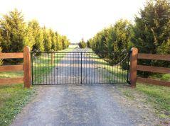 Farm Driveway Entrance Gates Ideas