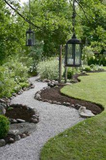 Garden Path with Gravel