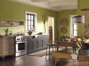 Green Kitchen Paint Color Ideas