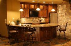 Home Basements Bar Ideas