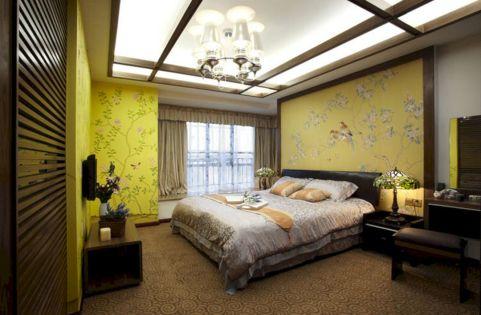 Incredible Yellow Aesthetic Bedroom Decorating Ideas 19