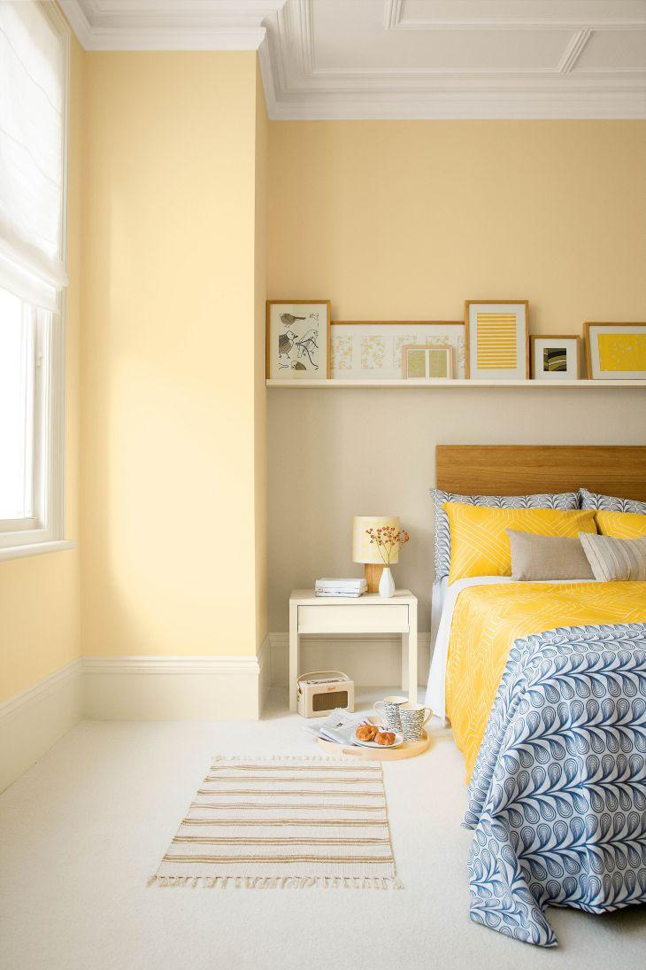 Yellow Aesthetic Bedroom Decorating Ideas