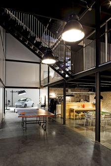 Industrial Interior Design Office Spaces