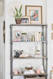 Inspiration Styling Bookshelf Ideas 13