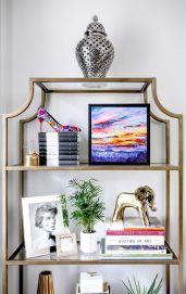 Inspiration Styling Bookshelf Ideas 16