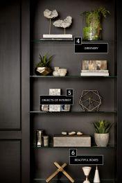 Inspiration Styling Bookshelf Ideas 37