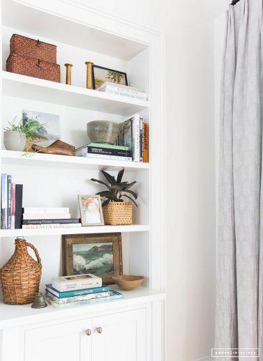 Inspiration Styling Bookshelf Ideas 46